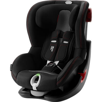 Автокресло Britax Römer King II LS - Cool Flow - Black