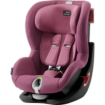 Автокресло Britax Römer King II LS - Wine Rose