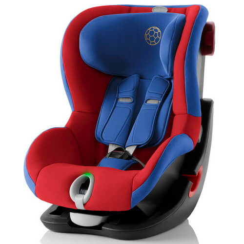 Автокресло Britax Römer King II LS - Football Edition