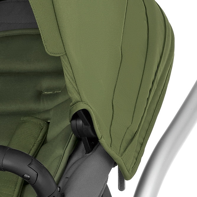 Коляска Britax Affinity - Silver / Cactus Green
