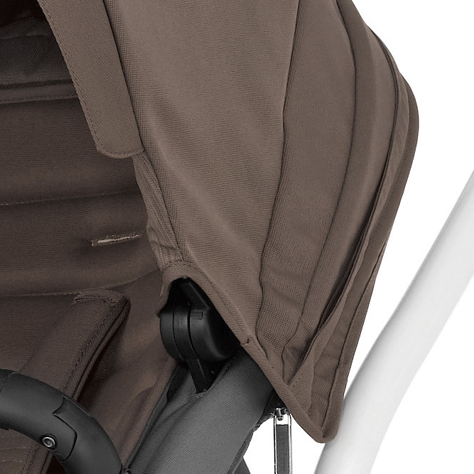 Коляска Britax Affinity - White / Fossil Brown