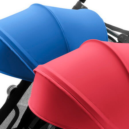Коляска для двойни Britax Holiday Double - Red / Blue